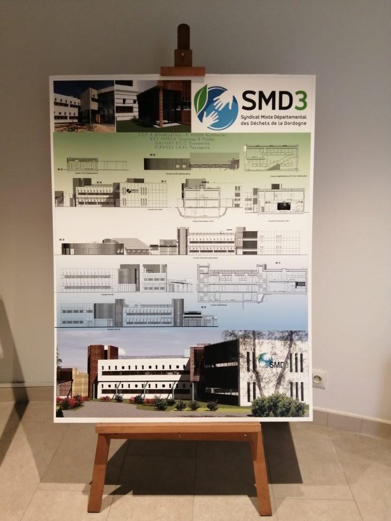 Plan de l'extension du SMD3